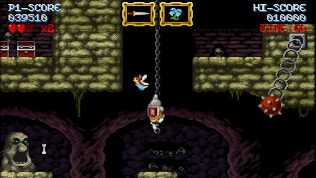 Cursed Castilla is a Ghosts n' Goblins inspired adventure