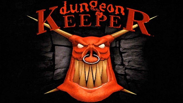 Dungeon Keeper logo artwork