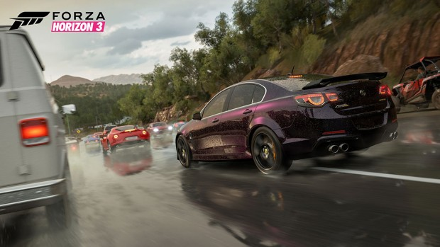 Forza Horizon 3 gameplay screenshot