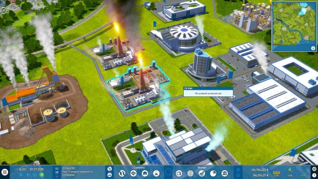 Industry Manager - Future Technology screenshot showcasing a coal factory