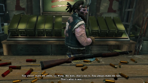 Shadow Warrior 2's Larry is rather hillarious