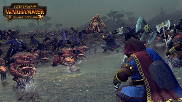 Total War: Warhammer's The King & The Warlord DLC battle screenshot