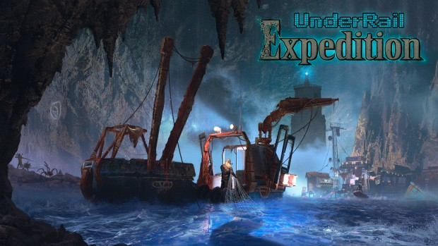 UnderRail official artwork for the Expedition expansion
