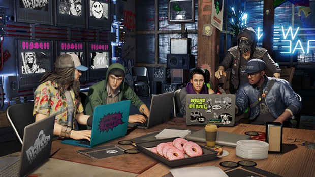 Watch Dogs 2 cafe screenshot
