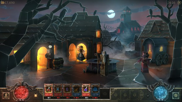 Book of Demons town screenshot