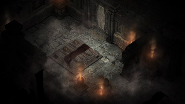 Diablo 1's catacombs recreated in Diablo 3