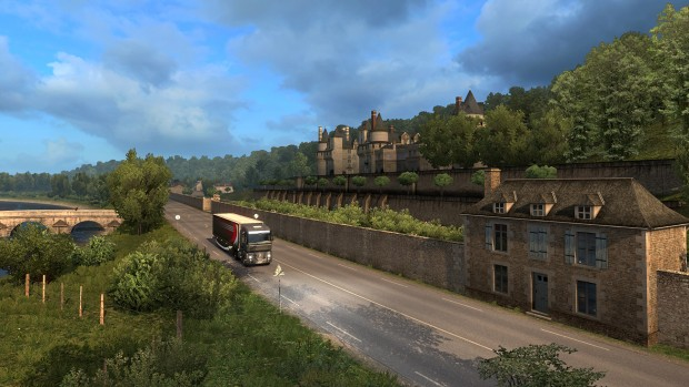 Viva la France DLC for Euro Truck Simulator 2 will bring French castles