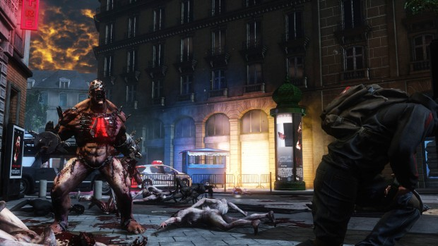 Killing Floor 2's Fleshpound chains a player