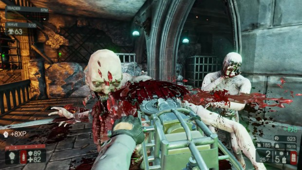 Killing Floor 2's chainsaw is a scary thing indeed