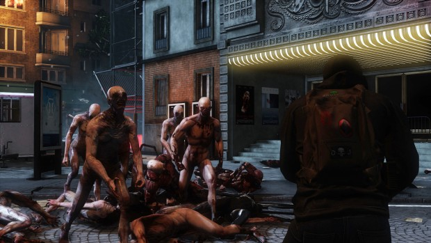 Killing Floor 2's Zeds attacking the player