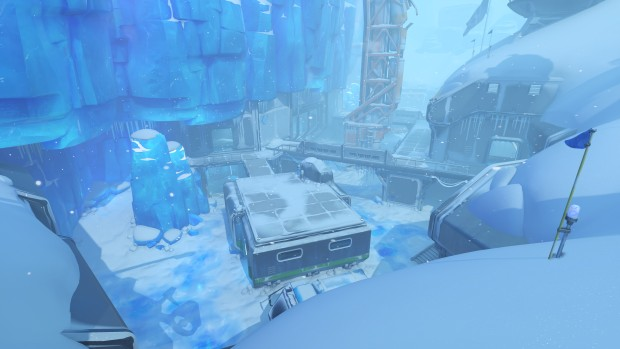 Echo Point Antarctica map from Overwatch's PTR