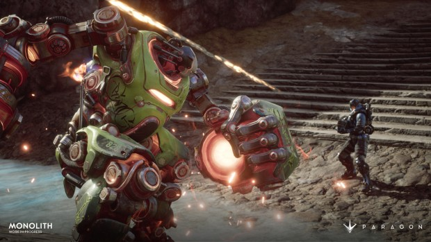 Paragon's Monolith Update will greatly increase the speed of combat