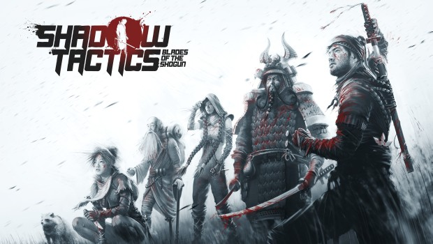 Shadow Tactics: Blades of the Shogun artwork and logo