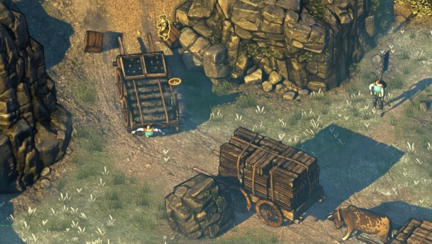 Shadow Tactics allows you to use the environment in your favor