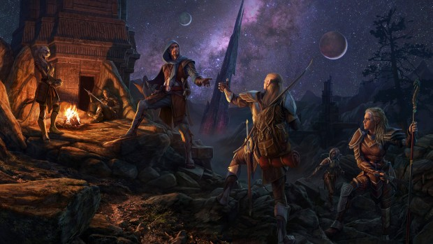 The Elder Scrolls Online Tamriel United artwork
