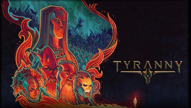 Tyranny artwork showcasing where you stand in the hiearchy