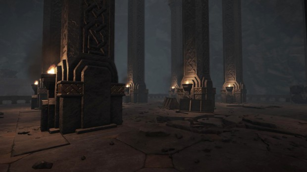 Warhammer End times Vermintide Karak Azgaraz looks very much like LOTRO's Moria