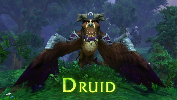 World of Warcraft Patch 7.2 Druid Owl Form class mount