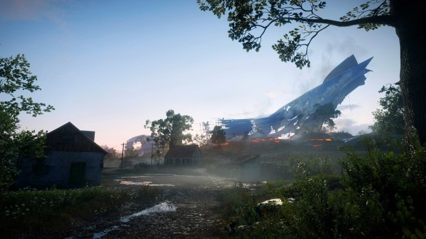 Battlefield 1's Giant's Shadow free DLC map