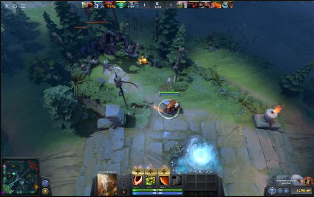 Dota 2's new UI coming with patch 7.00