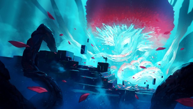 Duelyst's official artwork for the Rise of the Bloodborn expansion