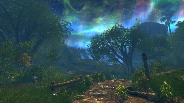 Enderal: Forgotten Stories image featuring some lovely skyboxes