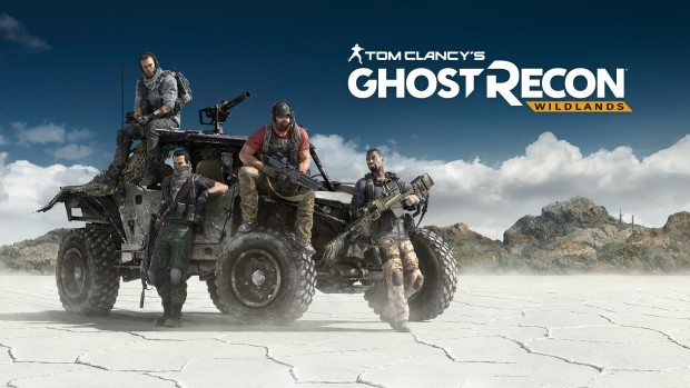 Ubisoft's Ghost Recon Wildlands official artwork and logo