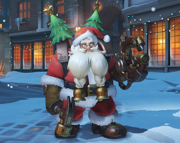 Overwatch Santa Torbjorn screenshot