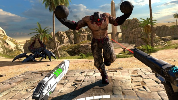 Serious Sam VR: The Last Hope screenshot of bomb-heads