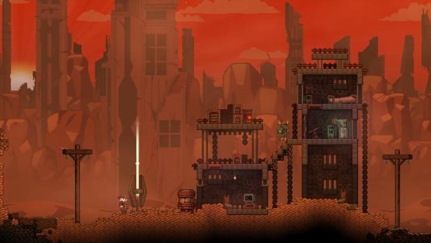 Starbound's recent Vault Update has added ancient ruins