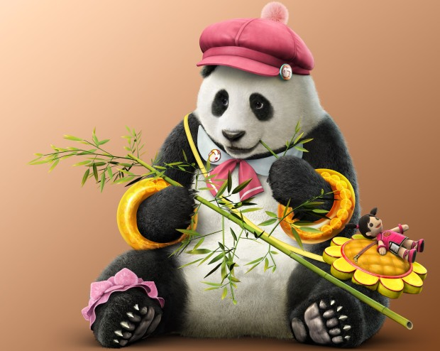 Panda from Tekken 7 is too damn adorable