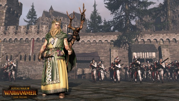 Total War: Warhammer official screenshot of the Jade Wizard