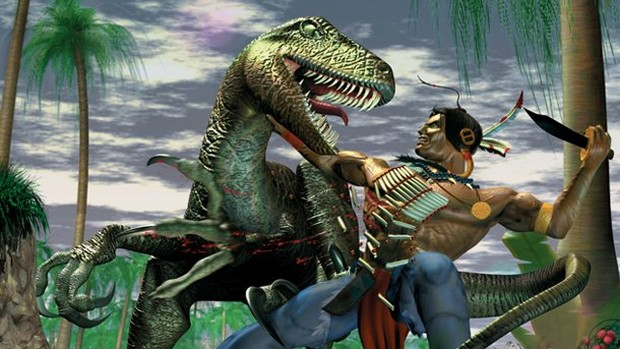 Turok Dinosaur Hunter official artwork