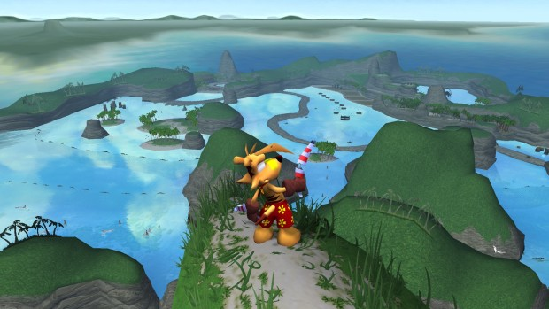 Ty the Tasmanian Tiger Steam version screenshot showing the map from afar