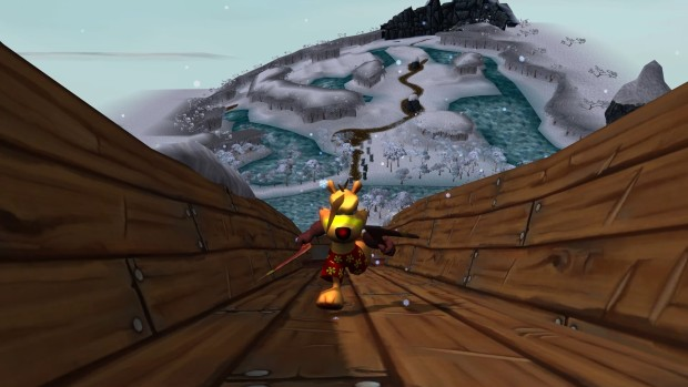 Ty the Tasmanian Tiger Steam version close up screenshot