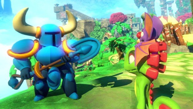 Shovel Knight is apparently a part of Yooka-Laylee