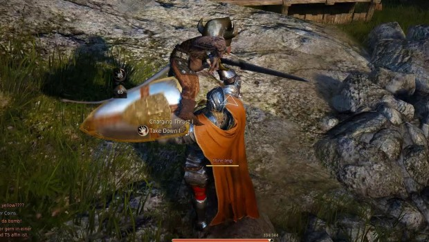 Black Desert allows you to throw imps around