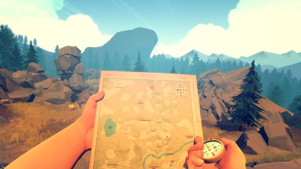 My detailed review of the lovely Firewatch