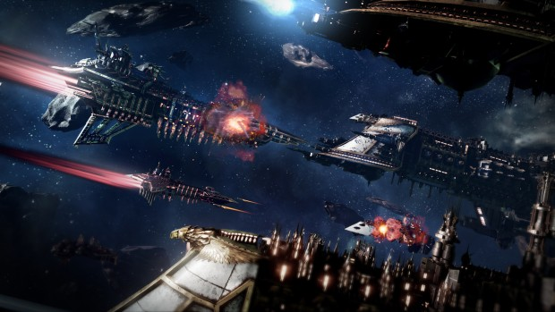 Battlefleet Gothic: Armada has released two trailers showcasing the Chaos & Imperial factions