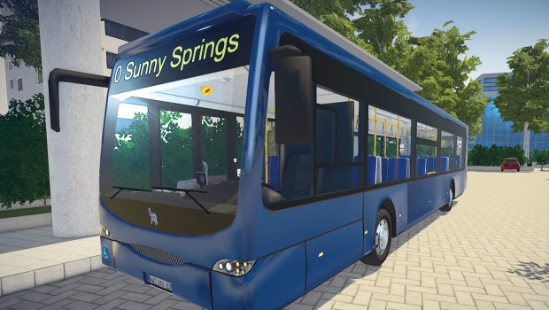 Bus Simulator has actually realistic busses