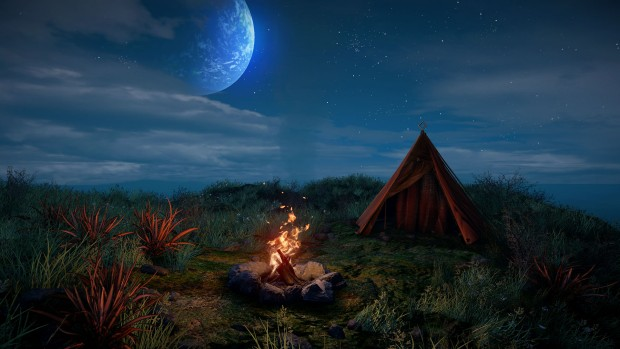 Eastshade is a peaceful first person exploration game set on a mysterious island