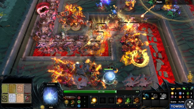 The Classic Element Tower Defense Is Now Available In Dota 2