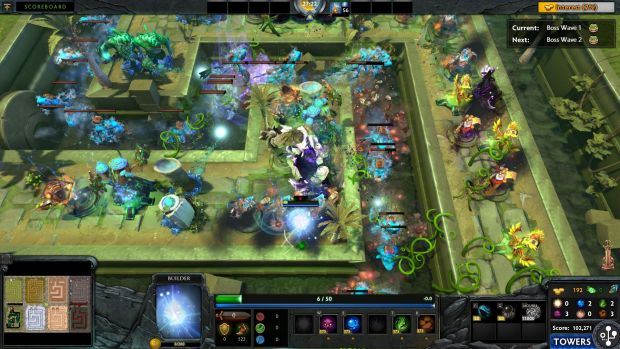 Element Tower Defense is now live in Dota 2