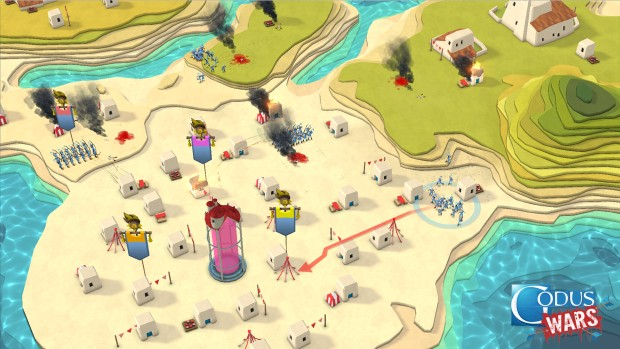 Godus Wars is a spin-off of the original god game Godus