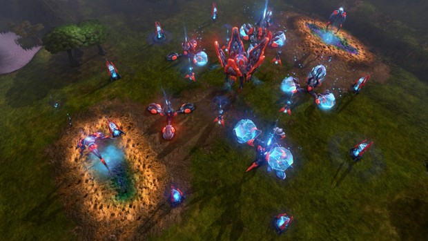Grey Goo Shroud faction has some interesting units and buildings