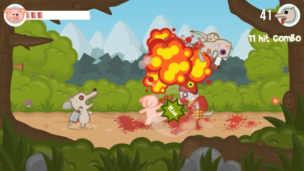 Iron Snout is a fun free fighting game