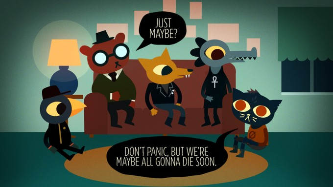 Night in the Woods has some well written dialogue