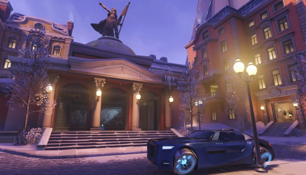 Detailed screenshot of Overwatch Volskaya map