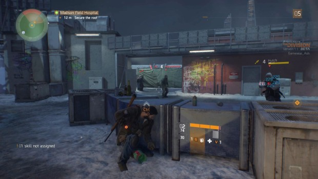 The Division features difficult combat