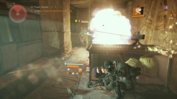 The Division flamethrower
